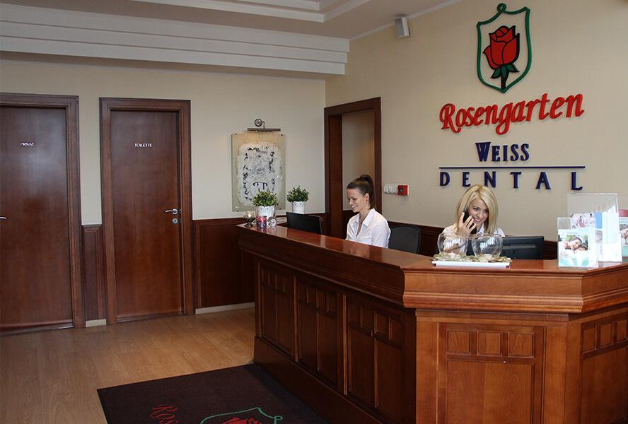Rosengarten Weiss Dental - Rezeption