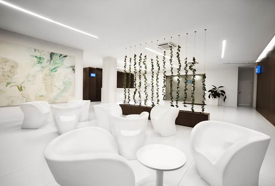 Wartezimmer- Interklinik Plastische Chirurgie in Bratislava, Slowakei